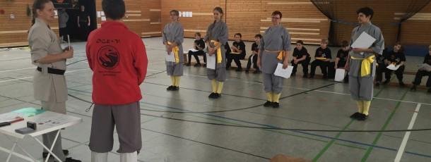 12.12.2015 Prüfungen der Schüler des Shaolin Kultur Verein e.V.