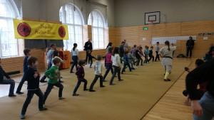 20160409 Probetraining Kung Fu