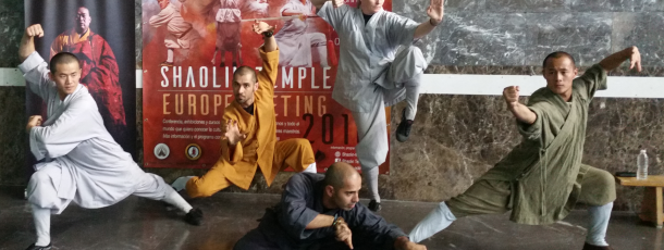1. Meeting of Shaolin Disciples in Spain/Madrid 3-5. Juni 2016