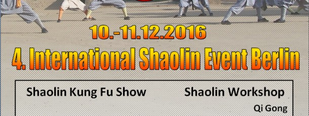 4. International Shaolin Event Berlin