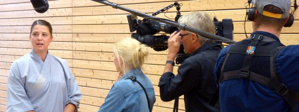 Fernsehsender RBB dreht im Shaolin Kultur Verein e.V.